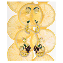 Lemon Stud Earrings/S925