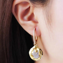 Love Coin Earrings/S925