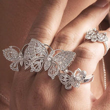 Butterfly Ring/S925