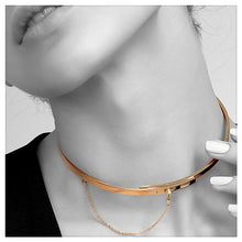 Safety Chain Choker Necklace - Bit of Me