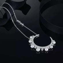 Pearl Moon Necklace/S925