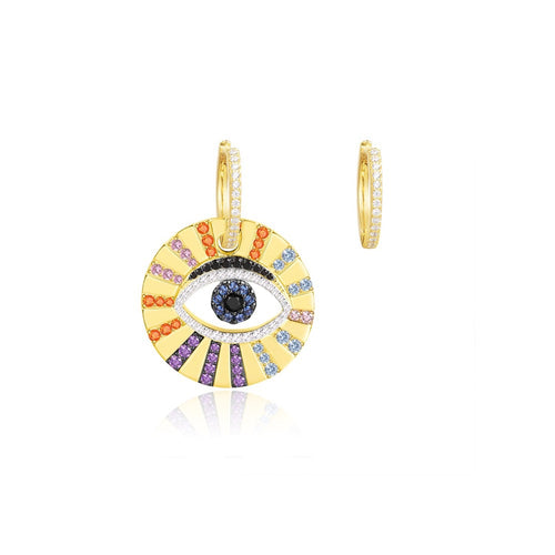 Evil Eye Earrings/Pop Collection/S925
