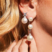Pearl Star Single Earring/S925
