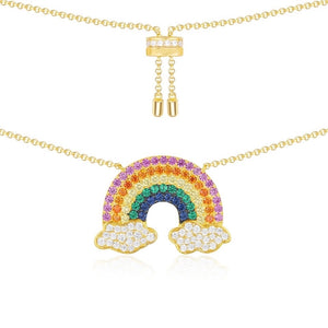 Rainbow Necklace/S925