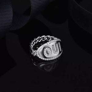 Word Silver Ring/925