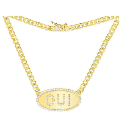 Word  Chain Necklace/S925