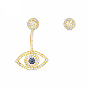 Evil Eye Mismatch Earrings