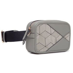 rove belt bag (stone) side