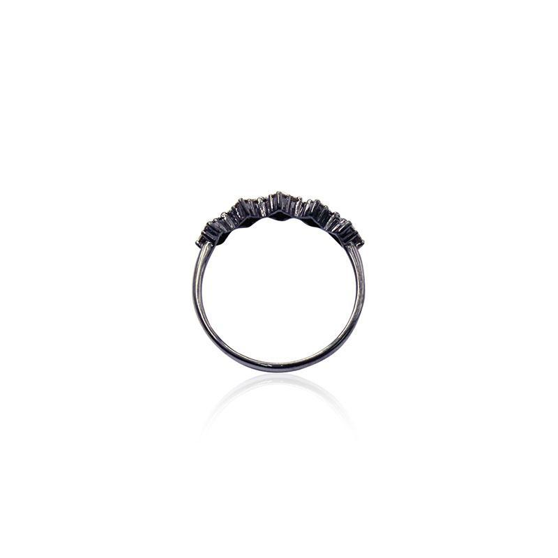 Squares Champagne Diamond Ring