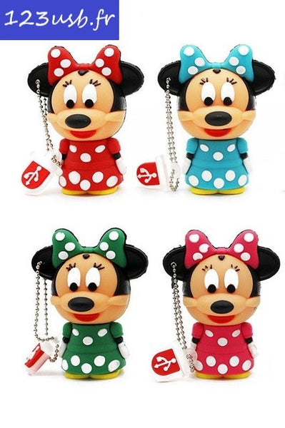 "Clé USB ""Minnie"" (65009) 4Go à 32Go"