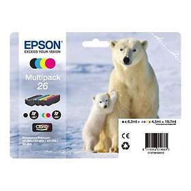 Epson C13T26164010 4-colours 26 Claria Premium Ink