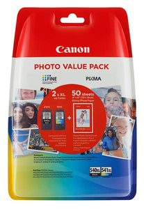 Canon PG540XL/CL541XL Paper Gp501 4X6 50Papper