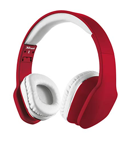 Trust Urban Revolt Mobi Headphones Red