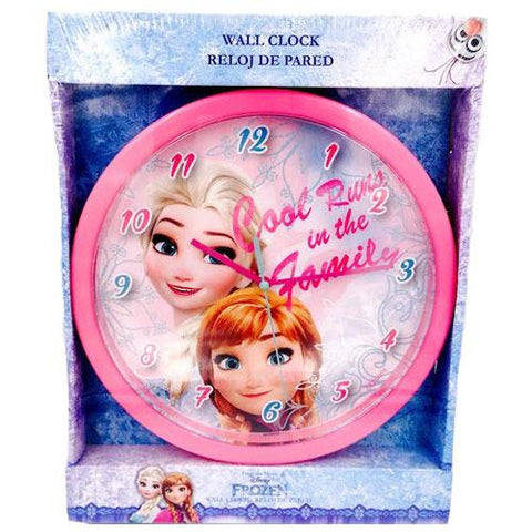 Frozen Disney wall clock