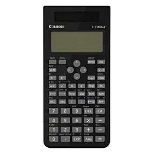 Canon F-718SGA Scientific Calculator - kalender data