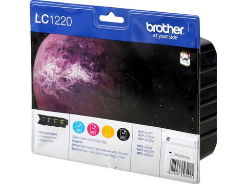 Brother LC1220 ink multipack