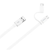 Huawei Micro USB&Type-C cable White - kalender data