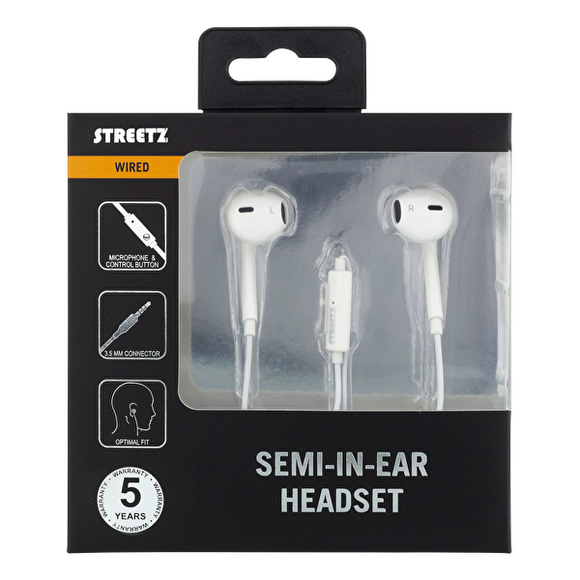 Streetz Semi-in-ear Headset