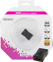 Deltaco HDMI extension adapter - kalender data
