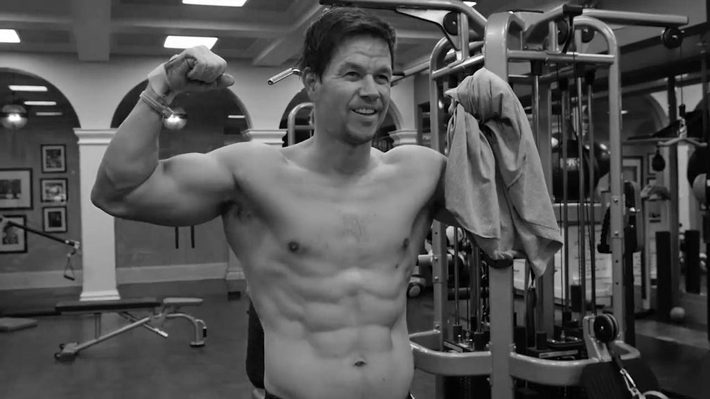 How does Mark Wahlberg recover from his 'intense' exercise regime?
