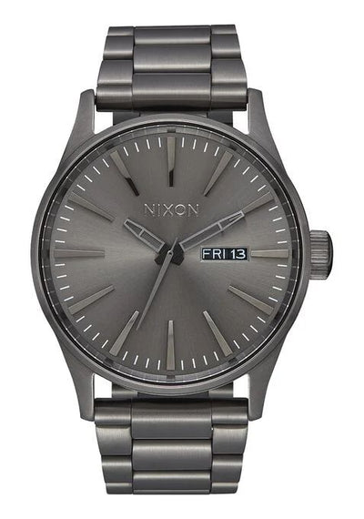 Sentry Stainless Steel Watch - All Gunmetal
