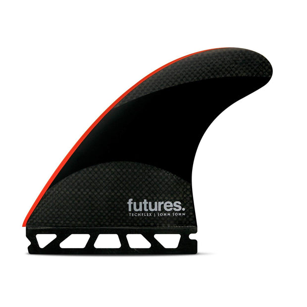 JJ-2 Techflex Thruster - Black/Bright Red