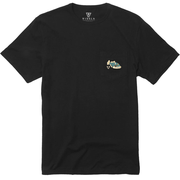 Helloha Pocket Tee - Phantom
