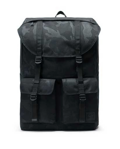 Buckingham Backpack - Black Tonal