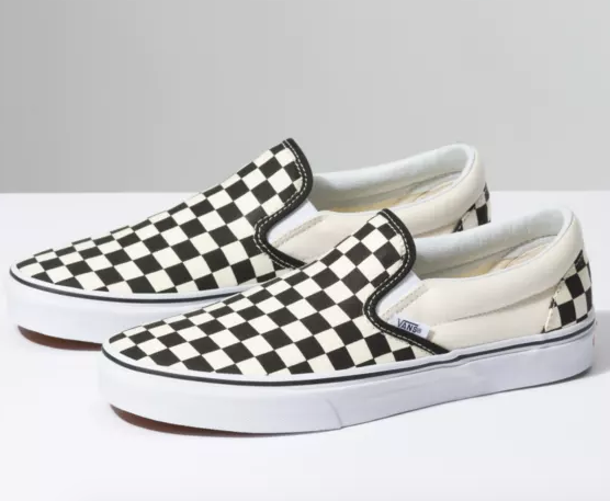 UA Classic Slip-On - Black/White Checkered Board