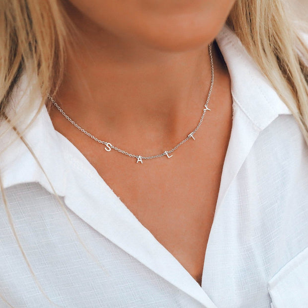Salty Necklace Choker - Silver