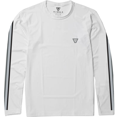Dredgers LS Surf Tee - White