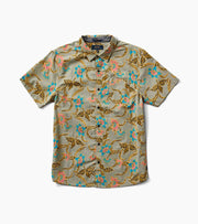Batavia Batik Button Up - Military