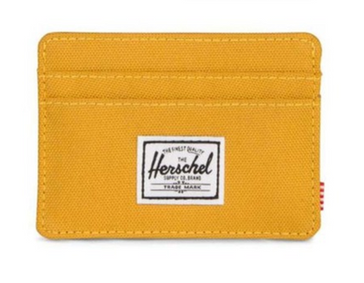Charlie Wallet - Arrow Wood Yellow