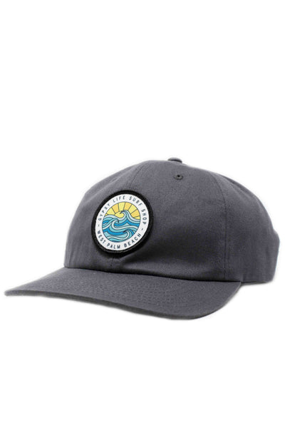 Gypsy Life Surf Shop Hat - Charcoal