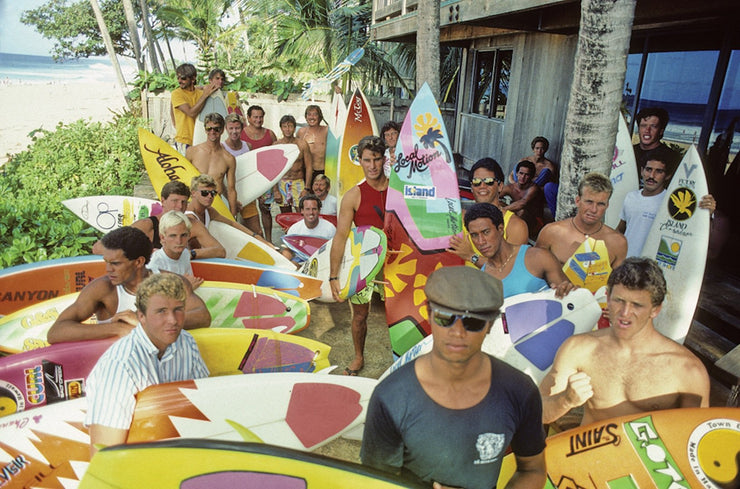80's Surfing Photographs
