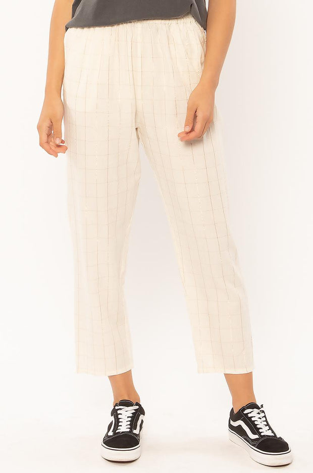 Down to Business Pants - Vintage White
