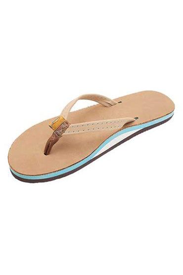 Women's Single Layer Sierra Leather - Ocean Blue