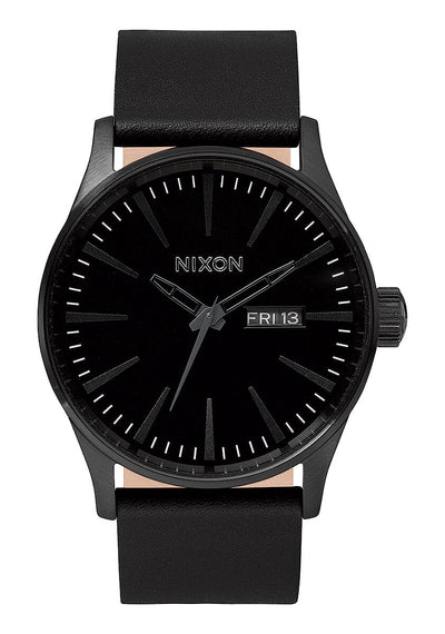 Sentry Leather - All Black