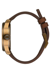 Sentry Leather - Brass/Black/Brown