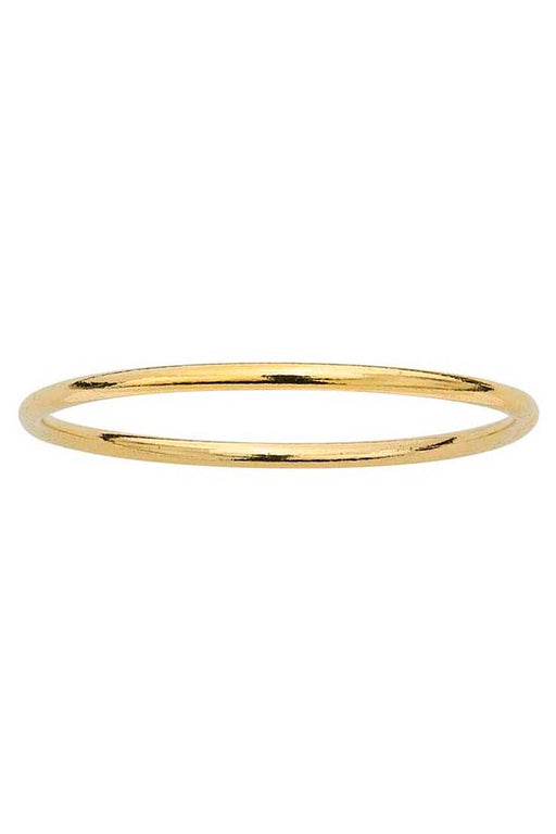 Gypsy Life Wire Stacking Ring - Yellow Gold-Filled