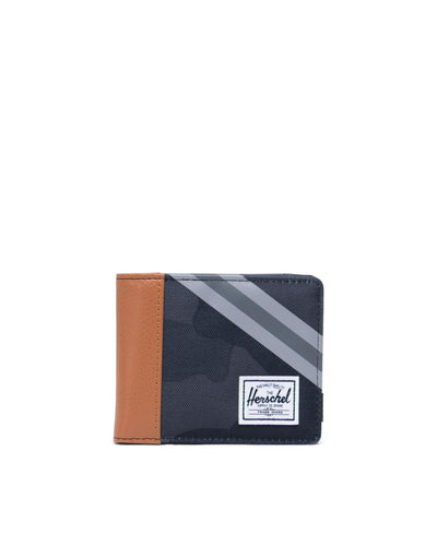Roy Wallet - Night Camo/Synthetic Leather Stripe Grey/Black