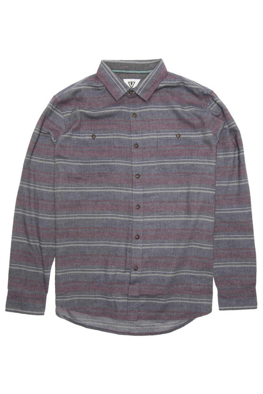 Volt LS Flannel - Dark Naval Heather