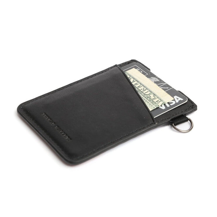 Glossed Wallet - Black
