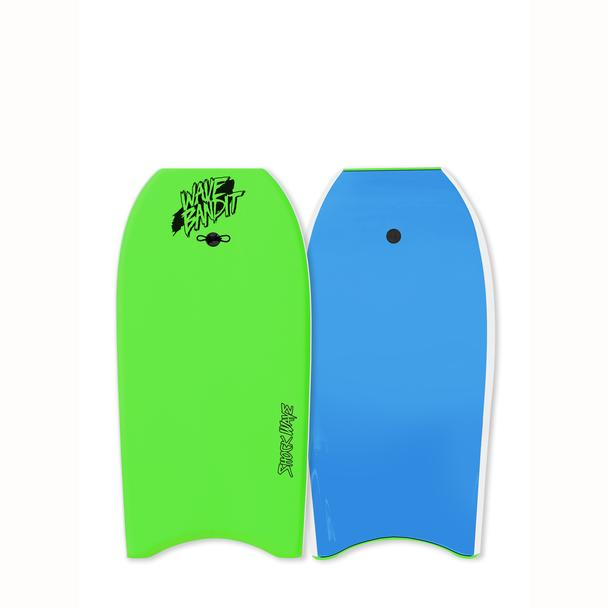 "45"" Shockwave Bodyboard - Neon Green/Blue"