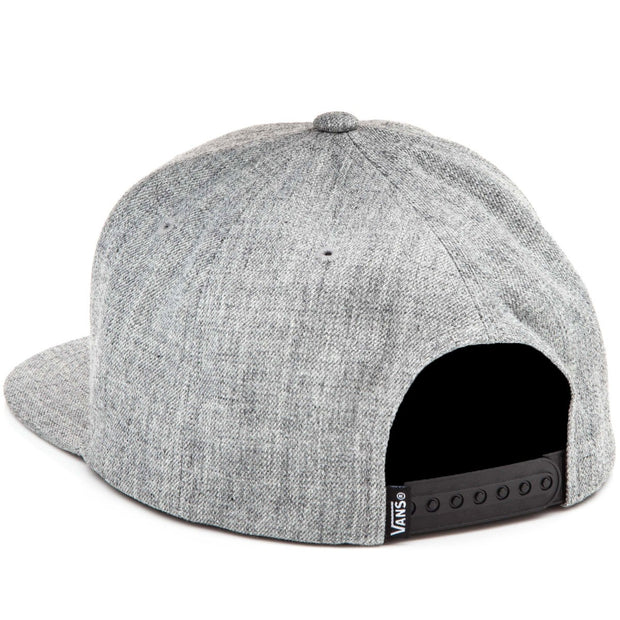 Classic Patch Snap Back Hat - Heather Grey