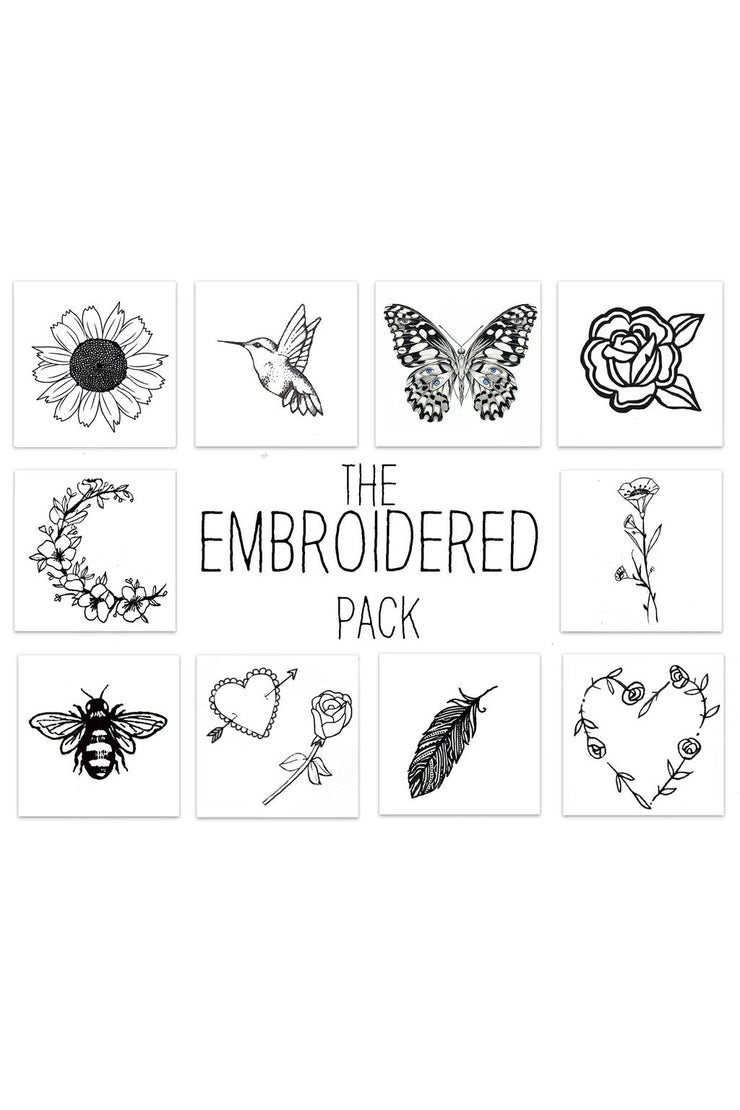 Embroidered Pack