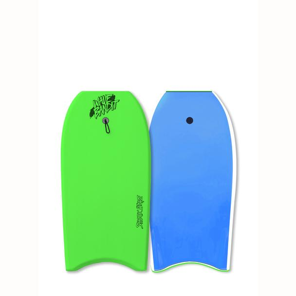 "42"" Shockwave Bodyboard - Neon Green/Blue"