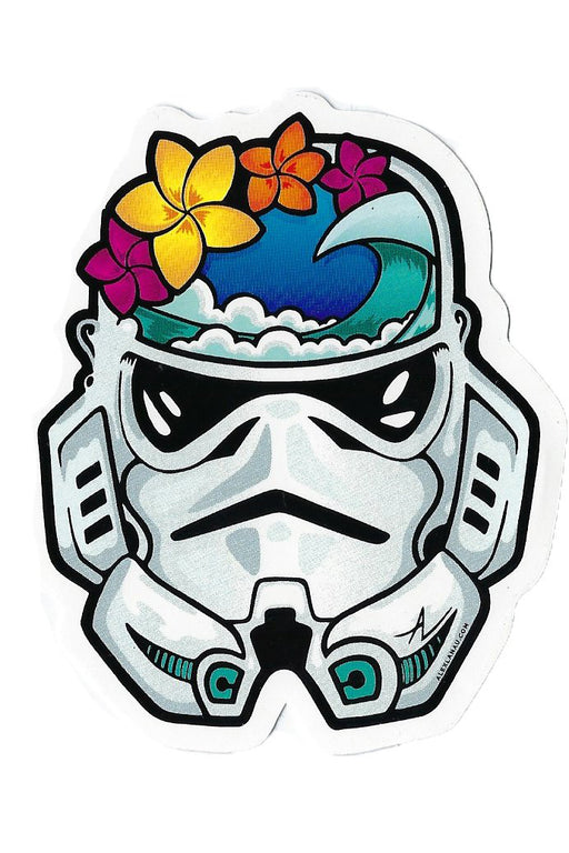 Hawaiian Star Wars Sticker