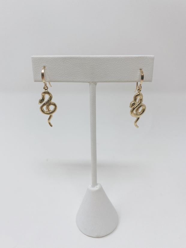 Gypsy Life Snake Earrings