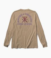 Outfitters and Storytellers Tee - Khaki